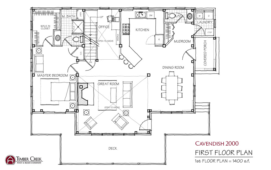 Cavendish 2000 First Floor Plan