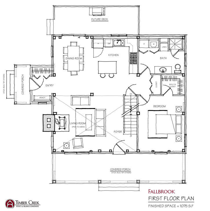 Fallbrook First Floor Plan