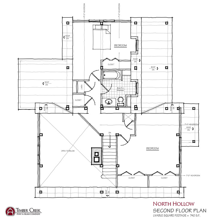 North Hollow Second Floor Plan