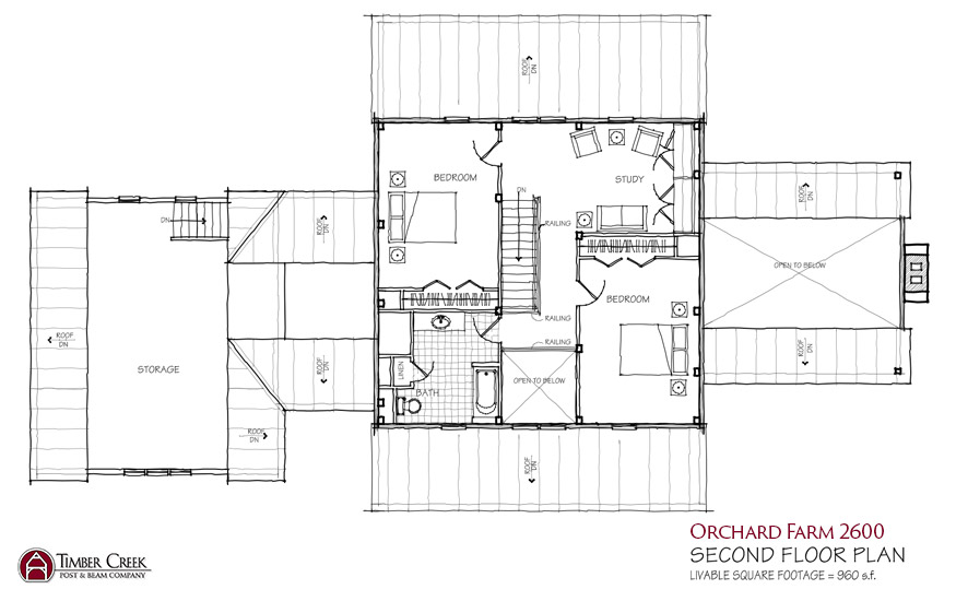 Orchard Farm 2600 Second Floor Plan