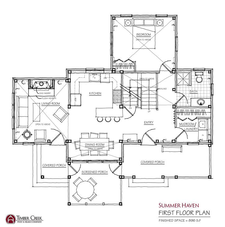 Summer Haven First Floor Plan