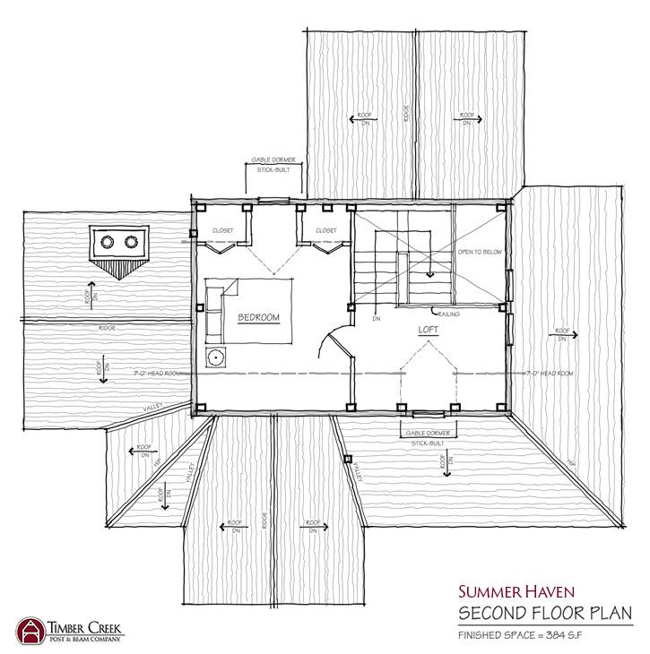 Summer Haven Second Floor Plan