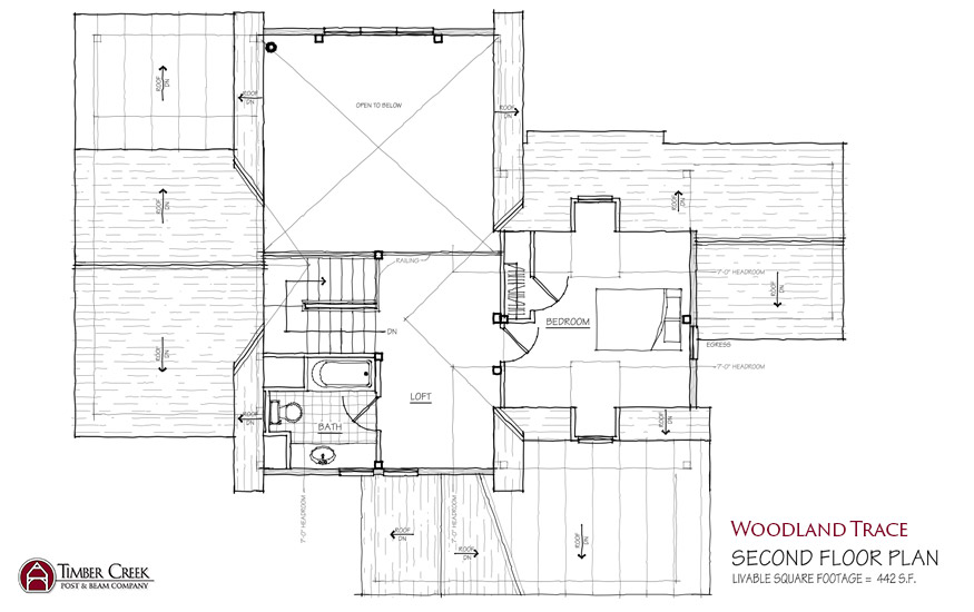 Woodland Trace Second Floor Plan