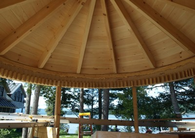 A round room on Lake Champlain
