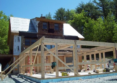 An addition for a 19th timber frame home