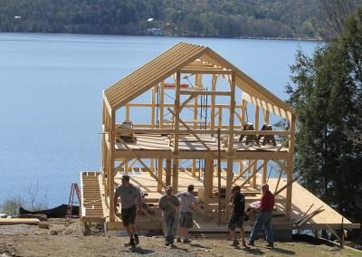 Bomoseen lake house