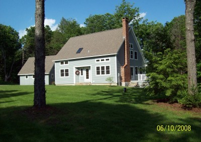 The Poole House is another of our standard plans and this variation of that plan can be found in Londonderry Vt.