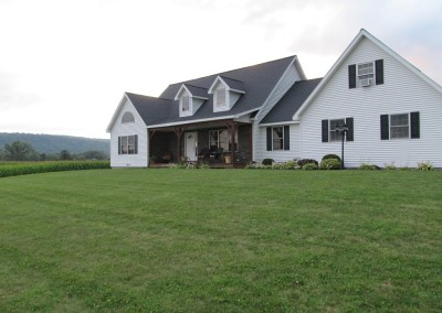 You'll find this home in Tully NY with the owners earning a living off their beautiful farm.