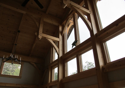 Timber hammer beams