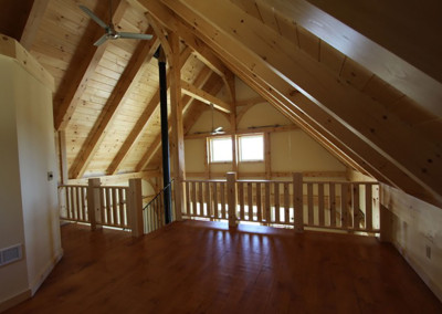 Timber frame 2nd floor