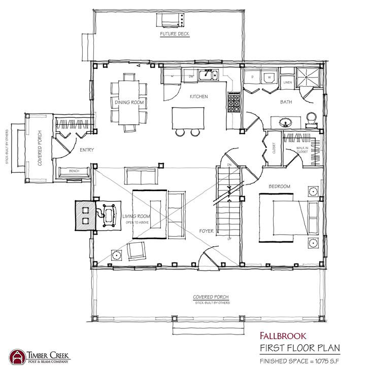 Fallbrook First Floor Plan