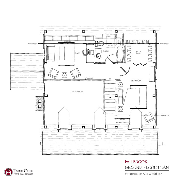 Fallbrook Second Floor Plan