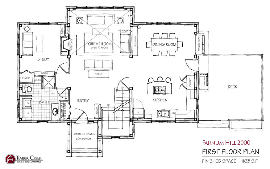 Farnum Hill 2000 First Floor Plan