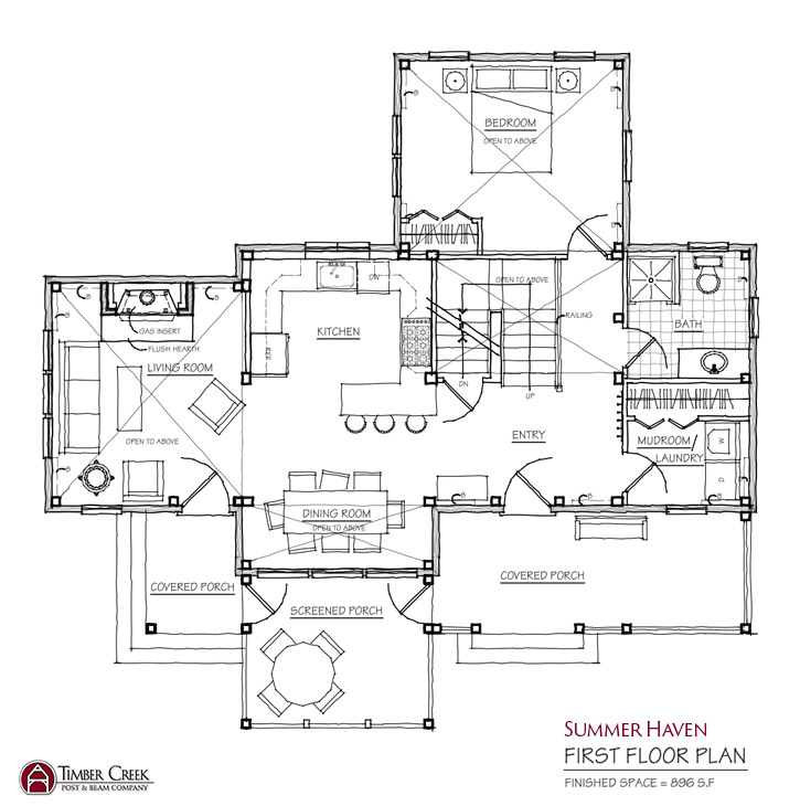 Summer Haven First Floor Plan