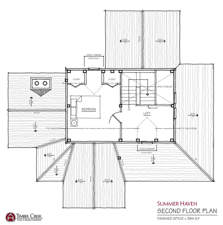 Summer Haven Second Floor Plan