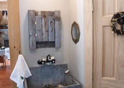 A unique utility sink
