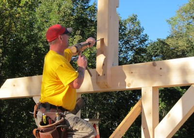 Cleaing up a mortise
