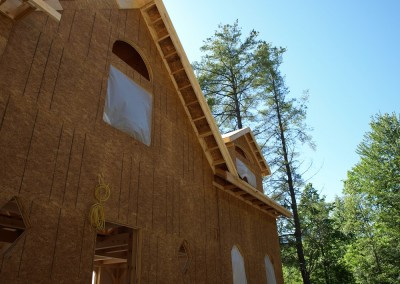 Gable and eave overhangs