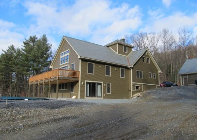 If you're planning an addition to your home, the entire back section and decks are new in this home. We were awarded best addition by Southern Vt Builders Association.