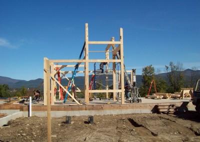 Installing the a hammer beam
