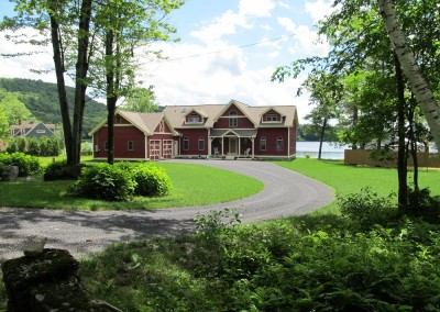 Lakefront retirement living in Salisbury Vt for this lucky couple.