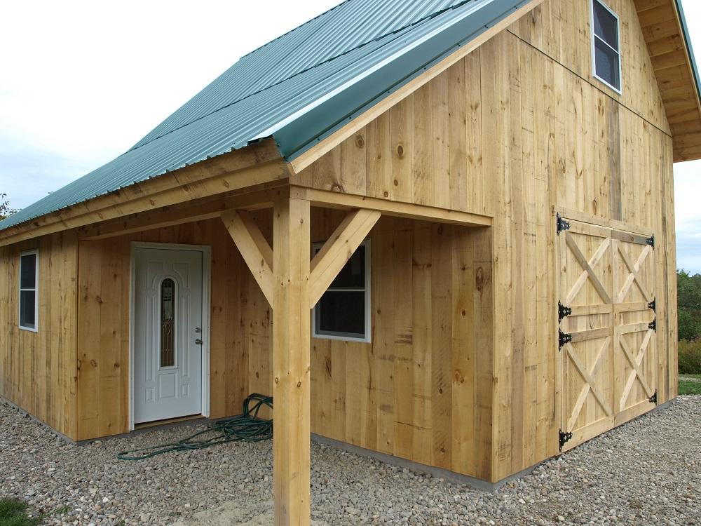 Barns Timber Creek Post amp Beam Company