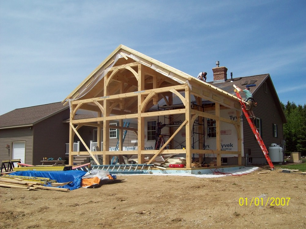 Frames and Construction – Timber Creek Post & Beam Company