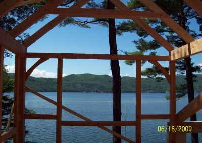 Timber frames are just big picture frames