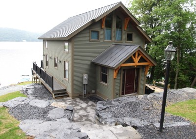 We wonder why we get so many homes on lakes but apparently timber frame living goes hand in hand with lake side living.