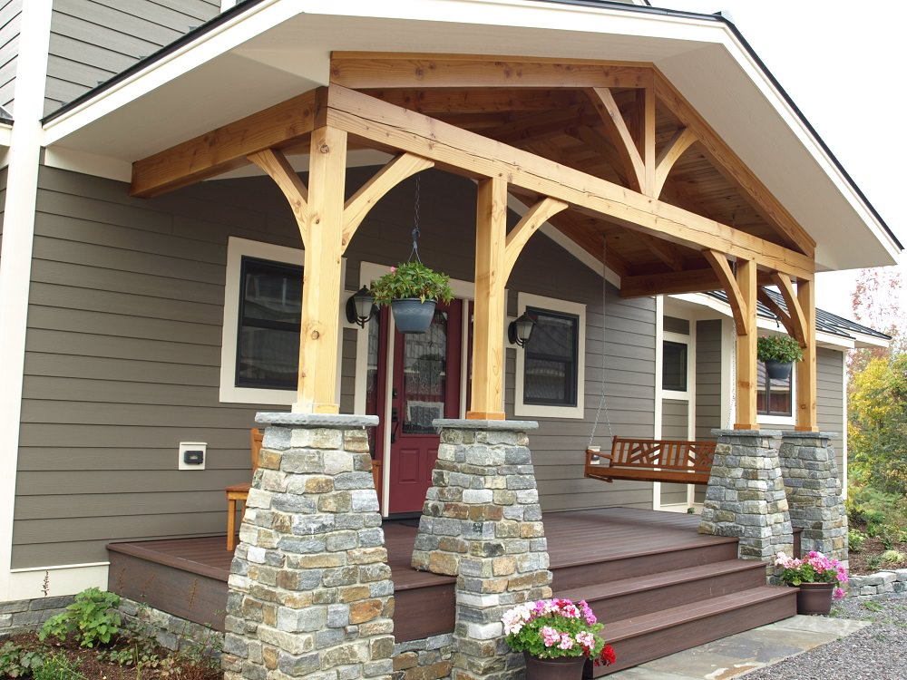 Porches And Exterior Details Timber Creek Post Amp Beam