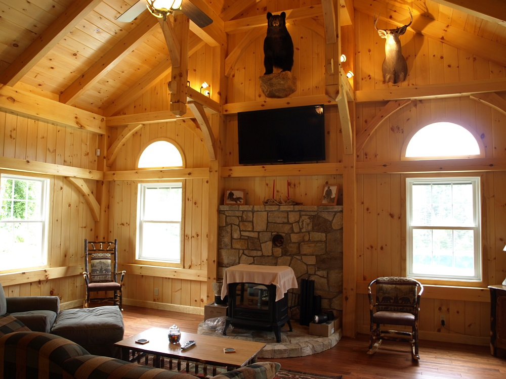 Great Rooms & Living Rooms – Timber Creek Post & Beam Company