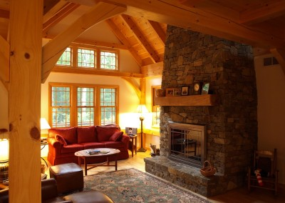 You'll find this comfortable living room in Dorsett Vt