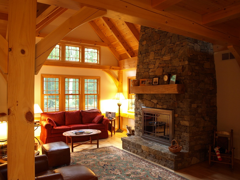 Great Rooms & Living Rooms | Timber Creek Post & Beam Company